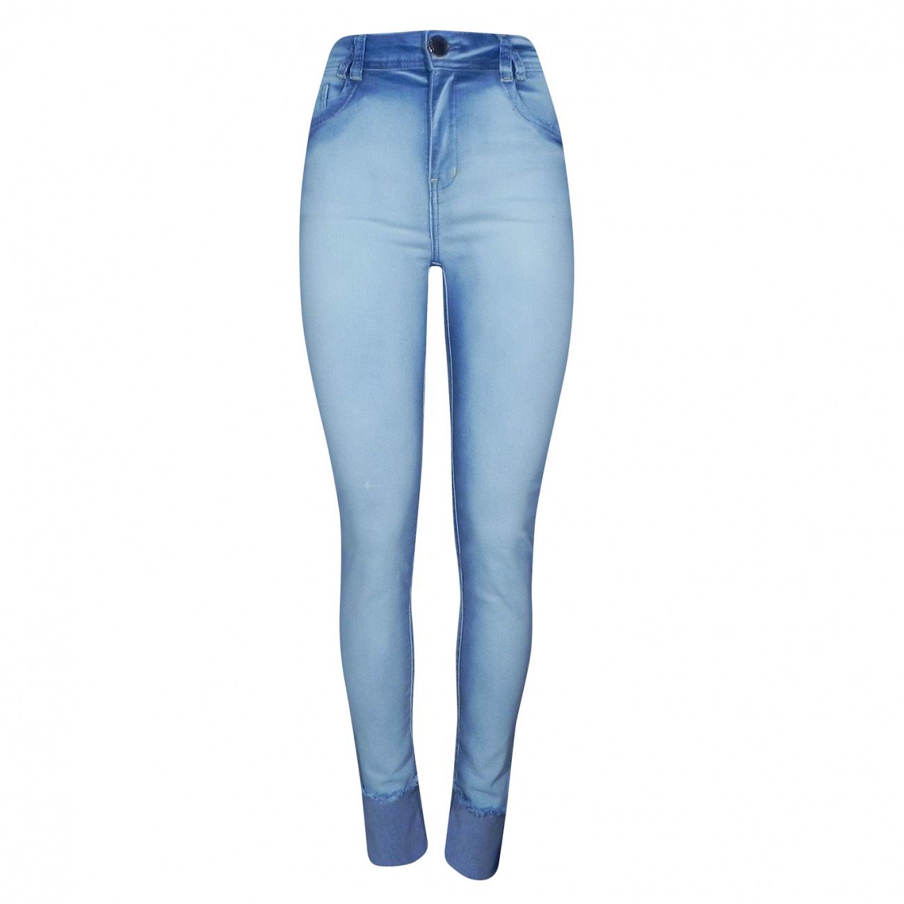 17c2bbd36 Calça Jeans Super Skinny com Barra Dimy - Pole Modas