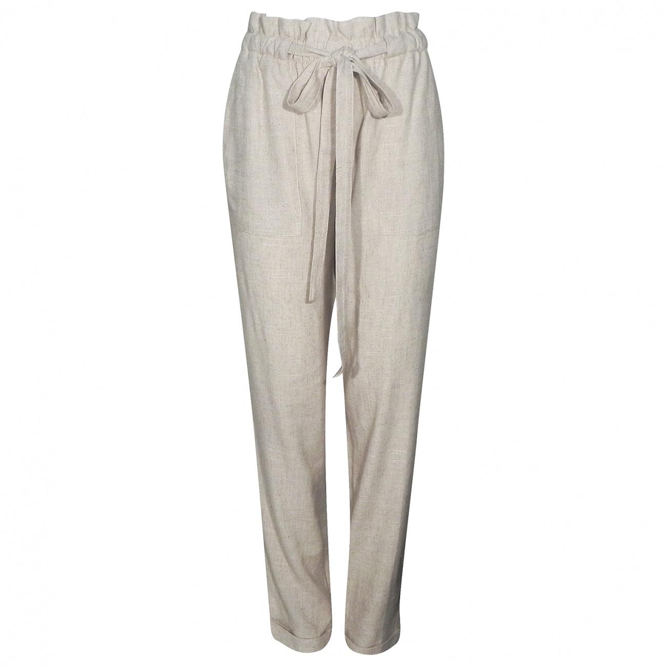 612e2bf36 Calça Pijama em Viscose e Linho Cotton Colors - Tamanhos Grandes ...
