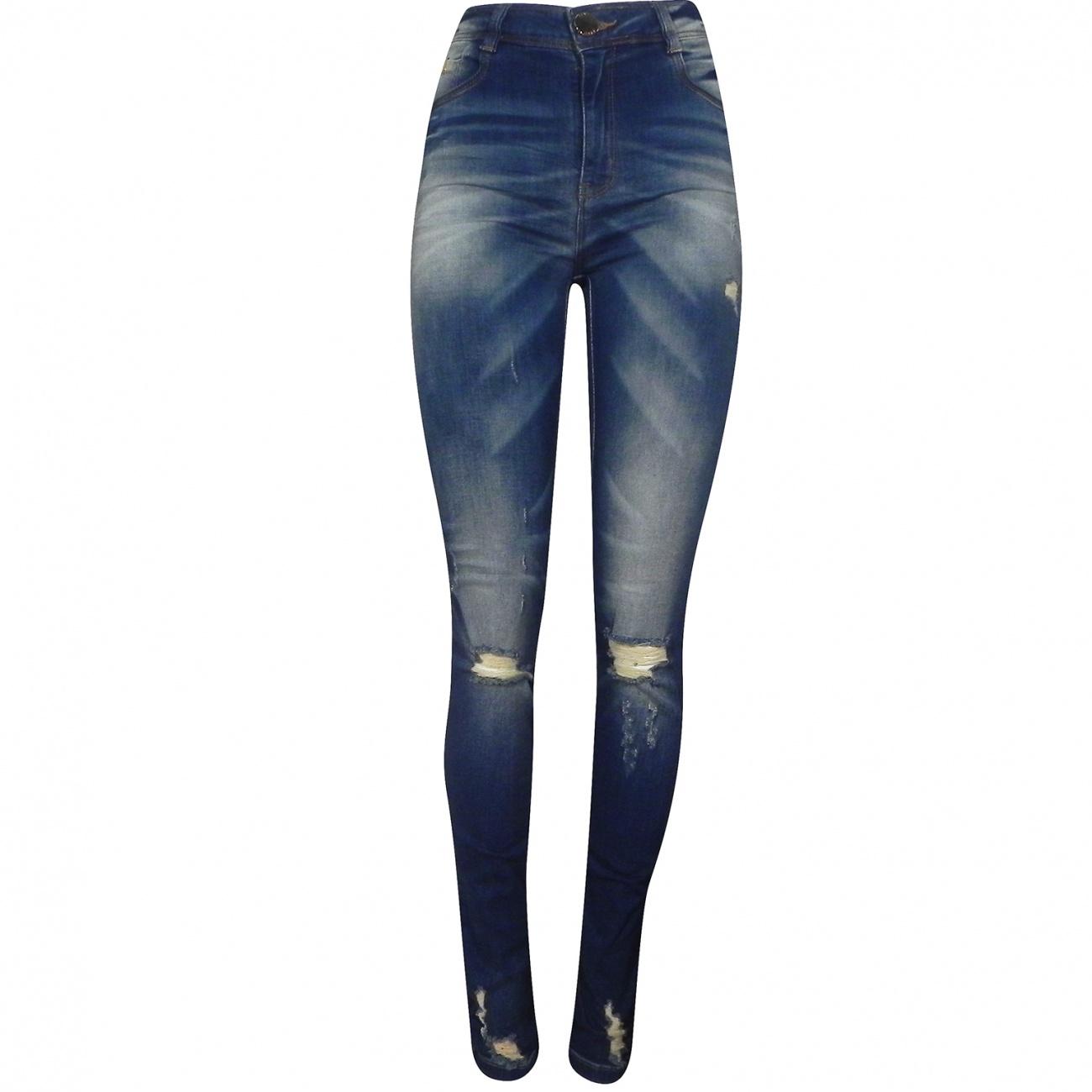 a14da8b34 Calça Jeans Kim Super Skinny Dimy - Pole Modas