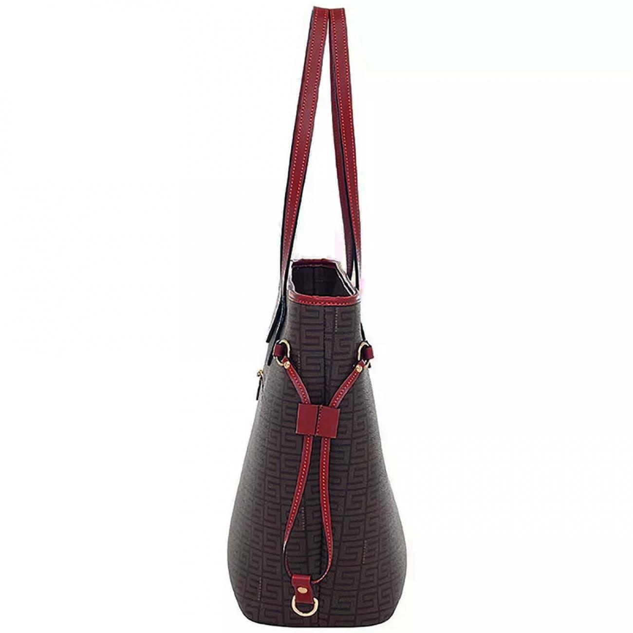 b25b2a102 Bolsa Tiracolo em Couro Veneza Smartbag - Cor Vermelho - Pole Modas
