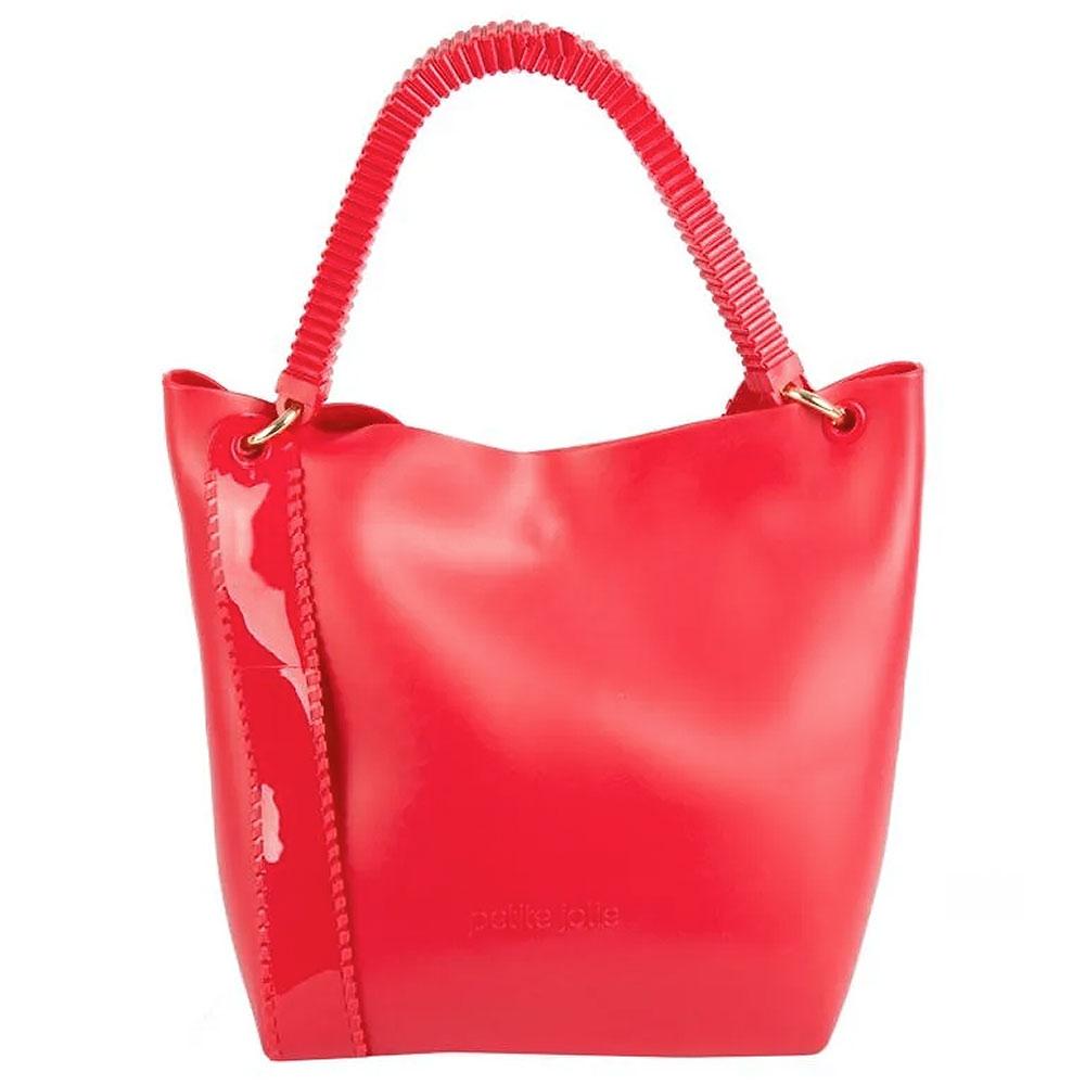 e5afc23231 Bolsa Grande Alça Larga Petite Jolie Cor Vermelho - Pole Modas