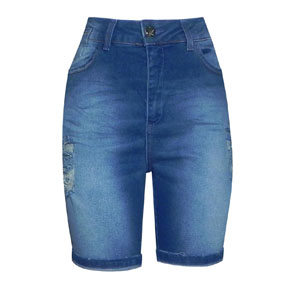 Bermuda Jeans Destroyed Chopper