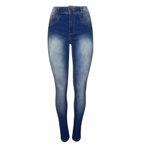 Calça Jeans Skinny High Performance Dimy
