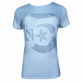 T-shirt em Viscose Five Top Innocence
