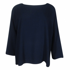 Blusa Viscose Marinho Cotton Colors Extra