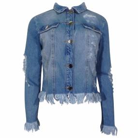 5d08816809 Jaqueta Jeans Feminina - Compre Online na Pole - Dimy - Pole Modas