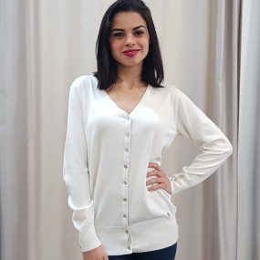 Cardigan Off White Miose