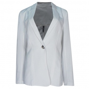 Blazer Linho Kaele Collection Off White