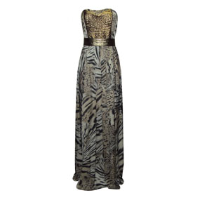 Vestido Animal Print Cholet