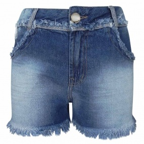 Shorts Jeans Girlfriend Thaila Dimy