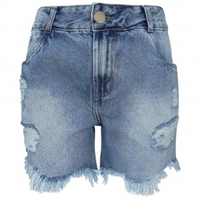 Shorts Jeans Boyfriend Destroyed Rihanna Dimy