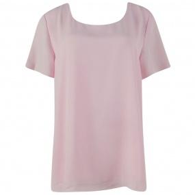 2edd001e68 Blusa em Crepe Rose Cotton Colors Extra - Tamanhos Grandes