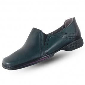 589bb4801 Sapato em Couro J.Gean Dual Confort Esmeralda