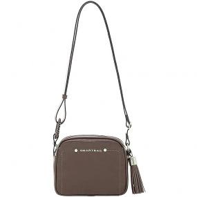 5c1fcf01a Bolsa Pequena em Couro Transversal Smartbag Fendi