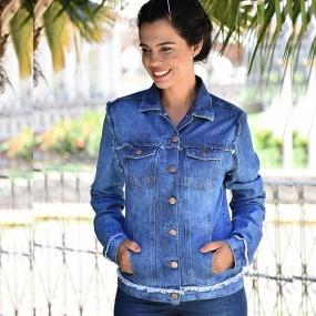 255c18add4 Jaqueta Jeans Feminina - Compre Online na Pole - Pole Modas