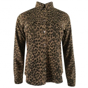 Camisa Animal Print Tratto Jeans