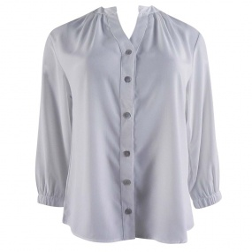 Camisa Crepe Off White Cittá