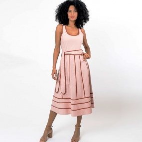 Vestido Lady Like Innocence Rose