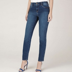 Calça Jeans Skinny The Ballet Denim Com Elástico no cós Scalon