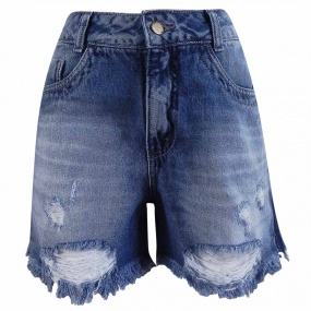 Short Jeans Destroyed Lemier