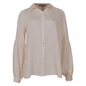 Camisa Acetinada Innocence Off White