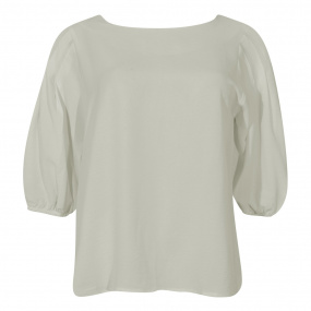 Blusa Crepe Innocence Off White