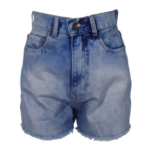 Short Jeans Lez a Lez Feminino Hot Pants